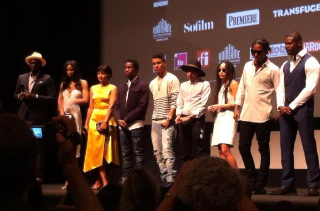 L'équipe du film à La Quinzaine des réalisateurs 2015